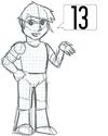 Dibu*Hito=13
