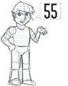 Dibu*Hito=55