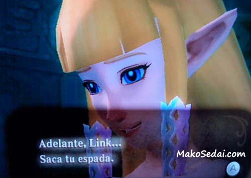Zelda se deja.