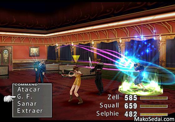 Análisis: Final Fantasy VIII