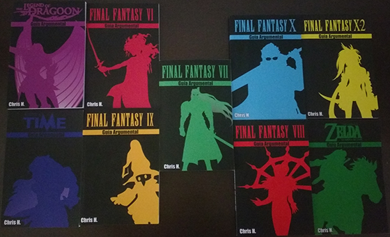 Guía argumental de Final Fantasy VII disponible en Amazon