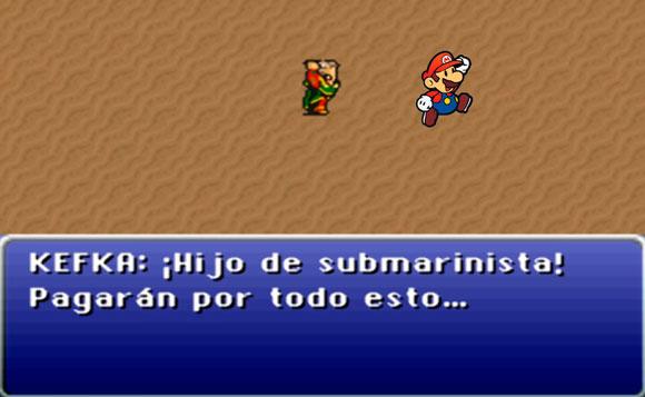 Mario Bros, hijo de puta